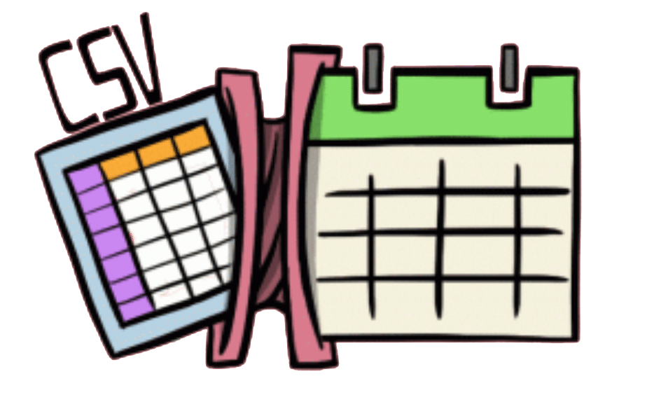 csv import calendar