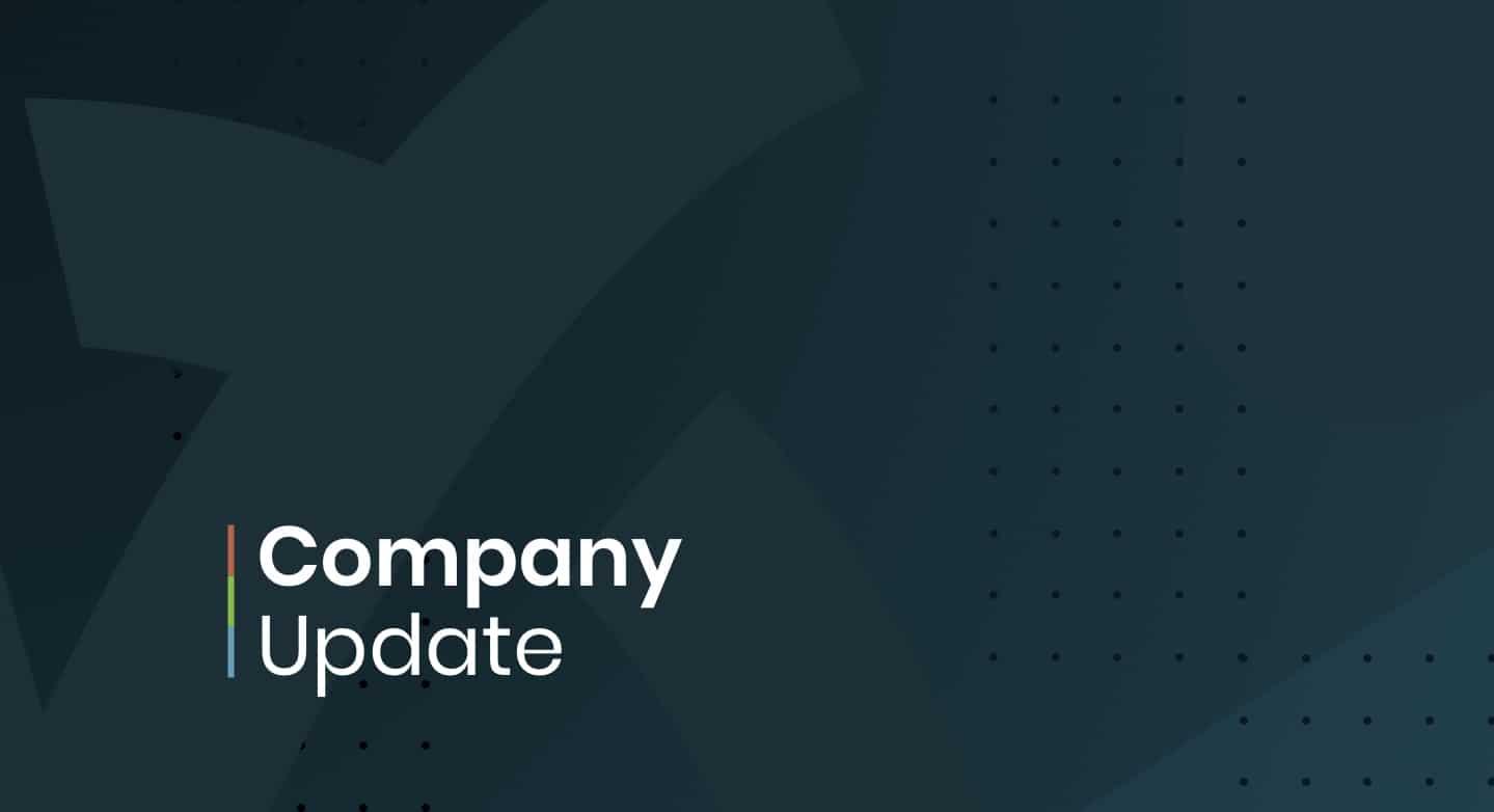 Company Update: December 28, 2020
