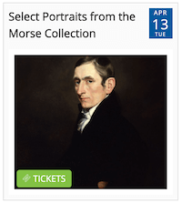 Select Portraits from the Morse Collection from Timely city calendar